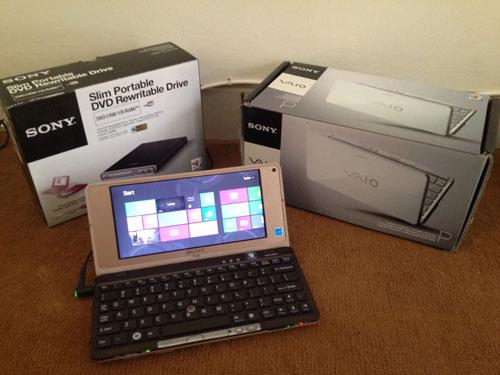 Sony VAIO Lifestyle VGN-P688E/Q 8-Inch Laptop – Black ...