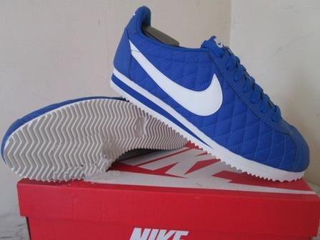 Jual Sepatu Casual Sneaker nike classic cortez nylon biru original ... 20d8632a11