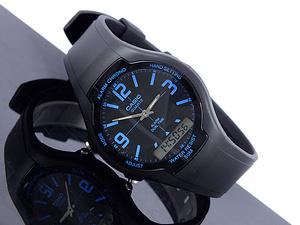 jam tangan casio original garansi resmi 1 tahun [AW 90H 2B] ayotaya