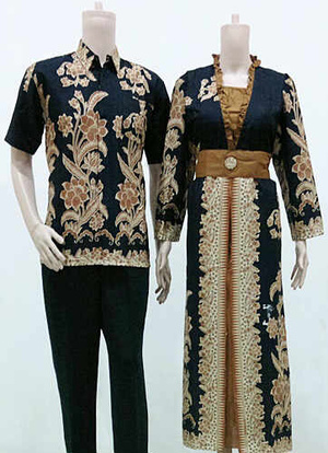 Jual Batik Sarimbit Gamis Modern Kode 172 Baju Batik