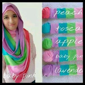 Hijab Pelangi / Rainbow