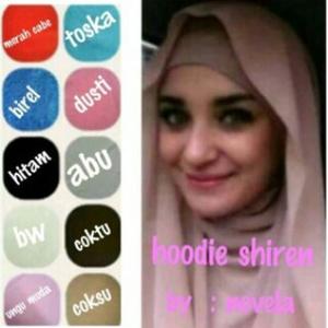 (KHUSUS GROSIR 10 PCS) Hijab Hoodie Shireen