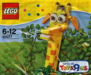 LEGO # 40077 EXCLUSIVE - POLYBAG GEOFFREY POLYBAG