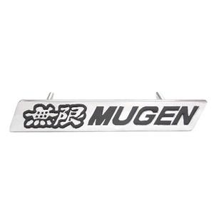 Emblem Grill Depan Mugen Krom Plat Jazz,Mobilio,Freed.