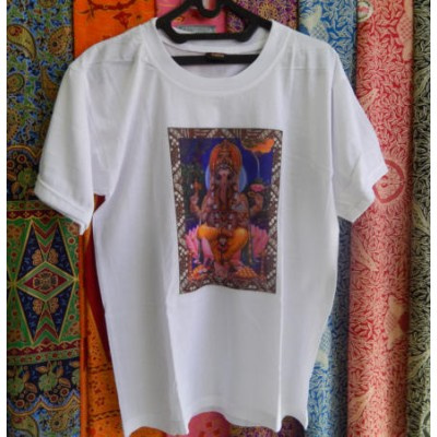 Jual Baju Kaos Pria Dewa Ganesha Jnana Art Bali Tokopedia