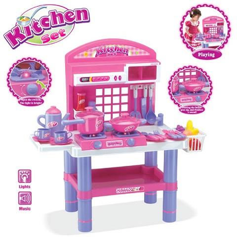 Harga mainan masak masakan 18 kitchen set 008 53 id for Kitchen set lampung