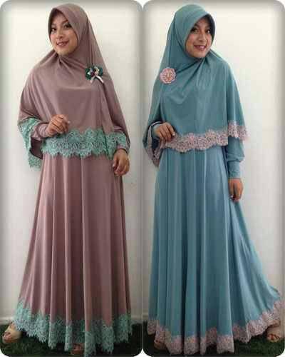 Bergo Pesta Jilbab Baju Gamis Model Terbaru Harga Murah