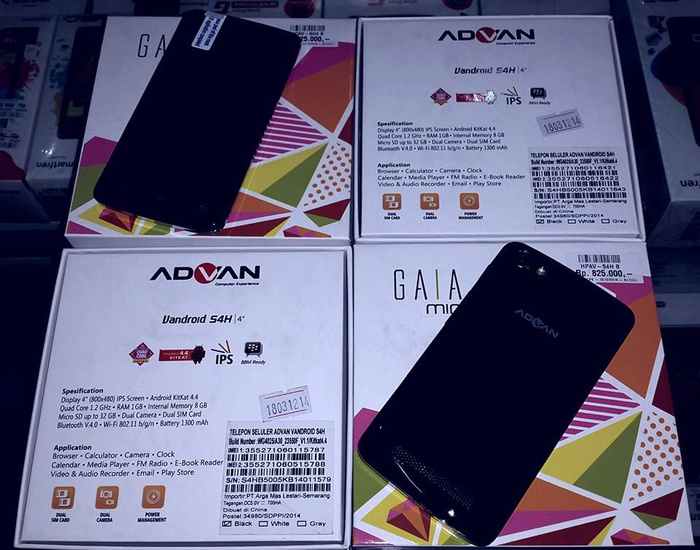 Advan Vandroid Gaia Mini S4H