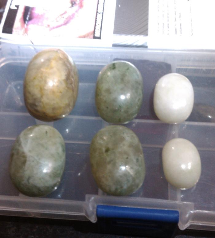 Jual Batu Sungai Dareh dan Giok Putih Aceh (Paket 6 Pcs ...