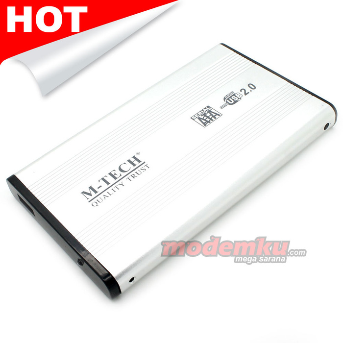 M-TECH 2.5inch HDD External Case SATA USB 2.0