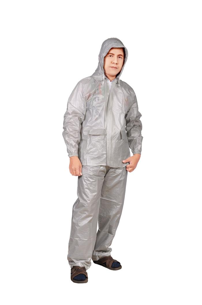 ... Jas Hujan Jaket Celana Millenium