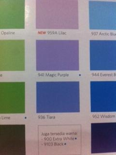 Jual cat tembok vinilex 936 tiara warna biru 5 KG - Toko Citra ...
