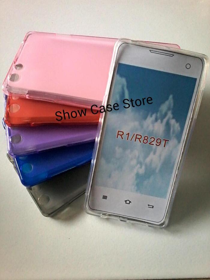 super popular 9333f a3b4a Jual Case silikon OPPO R1 / R829T . R 1 / R 829 T softcase softshell ...