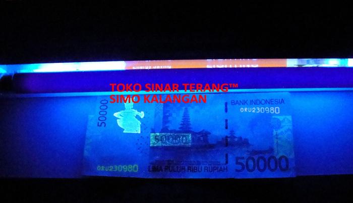 Harga lampu ultraviolet uang palsu