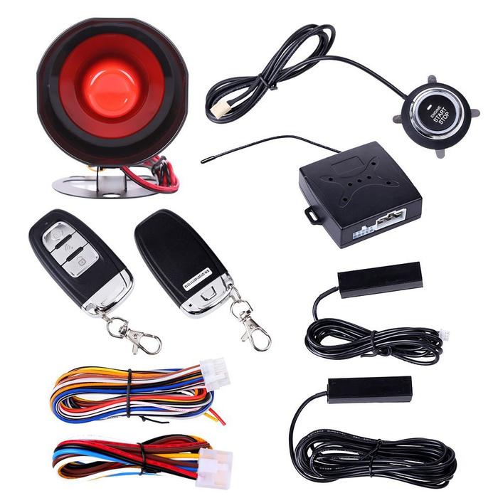 Jual Alarm Mobil Car Smart Alarm With Engine Start