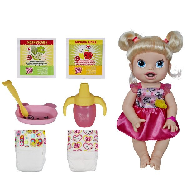BA110 Baby Alive My Baby All Gone Doll (Blonde)