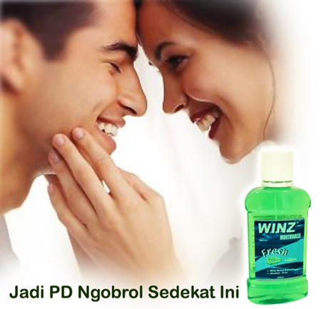 Obat Kumur Tanpa Alkohol, Winz Mouthwash