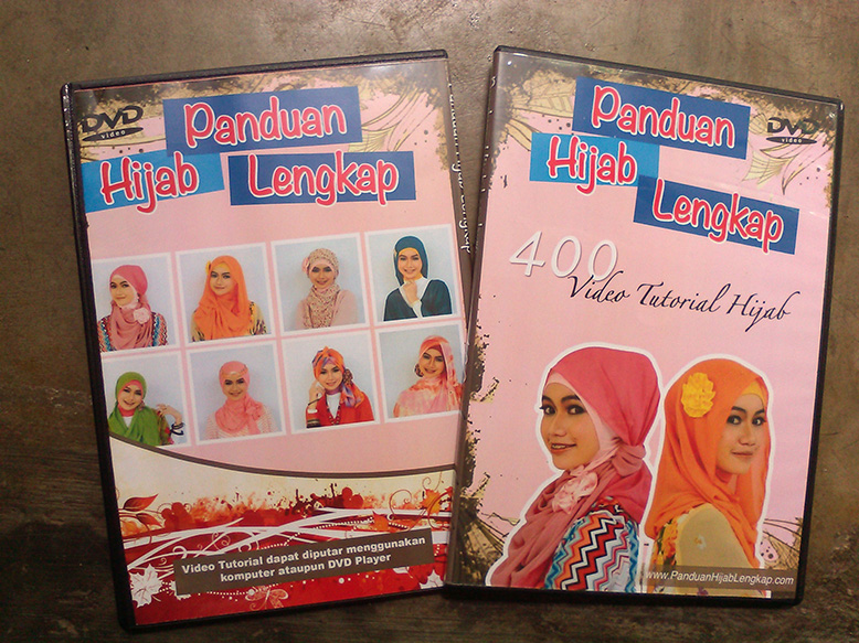 DVD Hijab Tutorial Terlengkap (400 Video Tutorial)