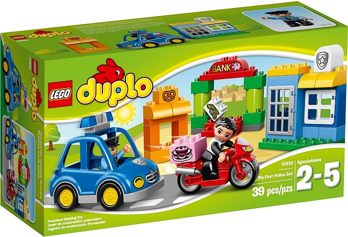 LEGO # 10532 DUPLO MY FIRST POLICE SET