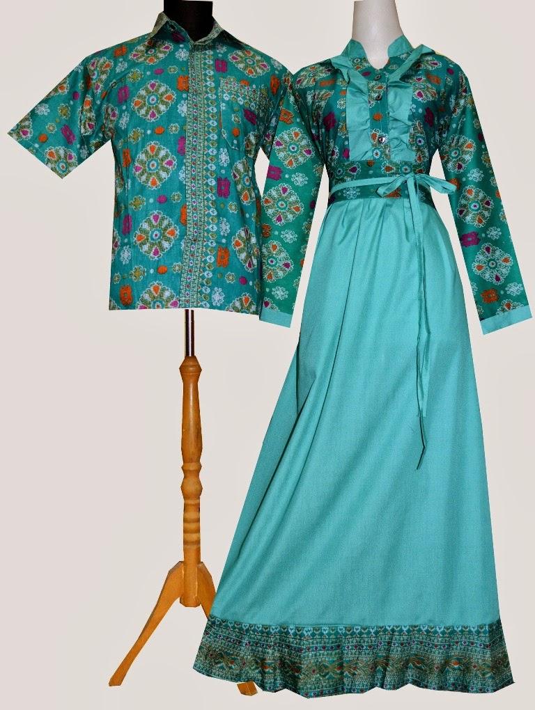 Jual Bost3h Gamis Couple Batik Butik Online Shop Tokopedia