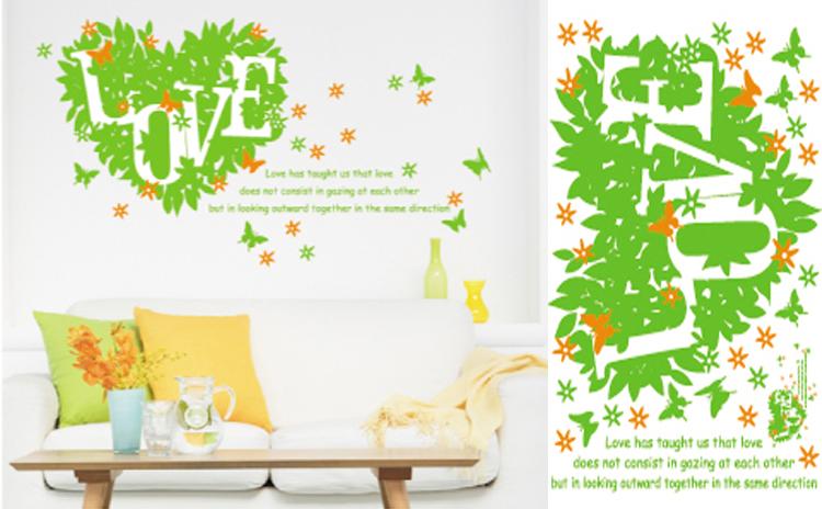 jual wall sticker / wallsticker / wallpaper / stiker tembok, dinding