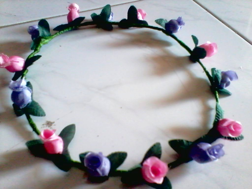 Jual flower crown renggang murah jember tokopedia izmirmasajfo Image collections