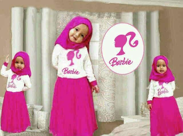 Jual Gamis Anak Barbie Toko Nao 39 Tokopedia