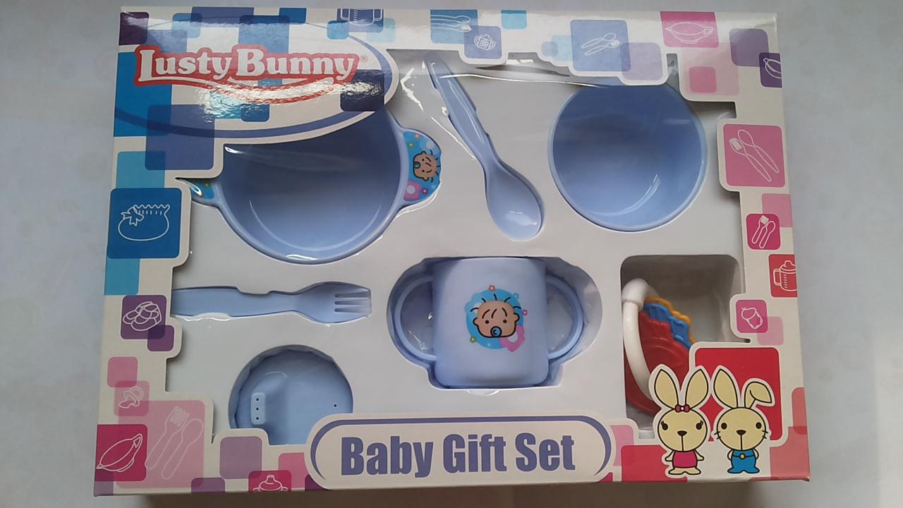 Lusty Bunny Feeding Set Kecil Peralatan Makan Bayi Set Shopee Source · Jual Lusty Bunny Feeding Set Baby Gift Set Dream Online Shop Tokopedia