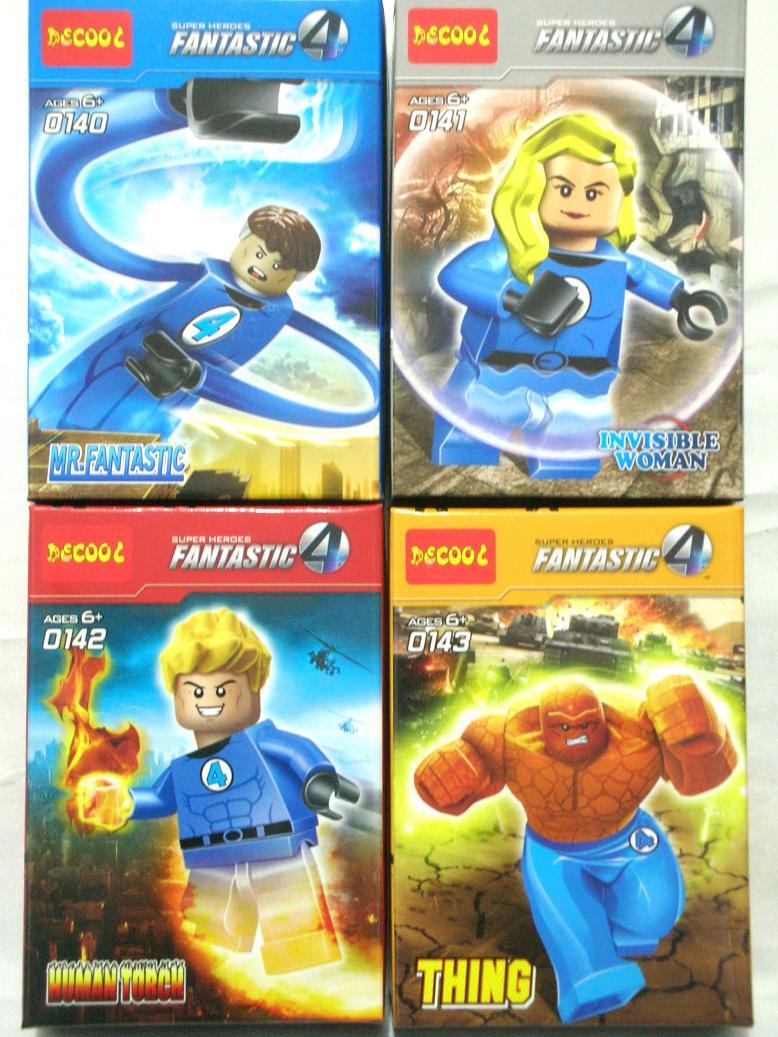 lego fantastic 4 games online