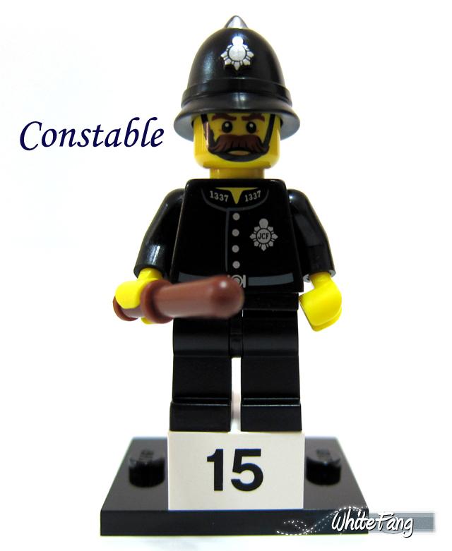 Jual Constable Lego Minifigures Series 11 No 15