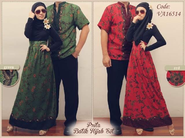 26 Model Baju Muslim Gamis Couple Remaja Modern 2018
