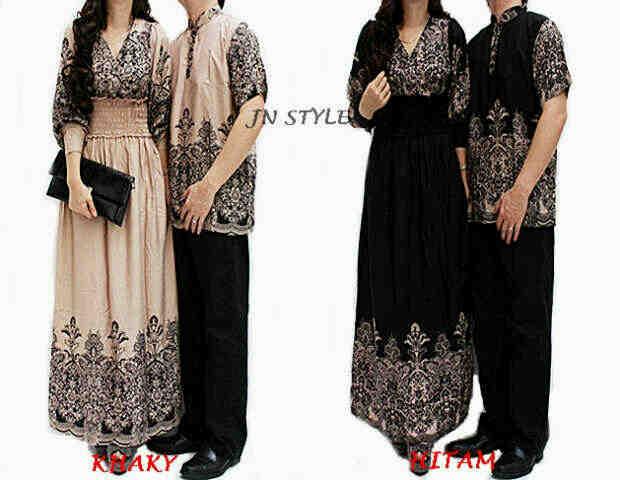 Jual Baju Couple Pasangan Cewe Cowo Baju Lebaran Gamis
