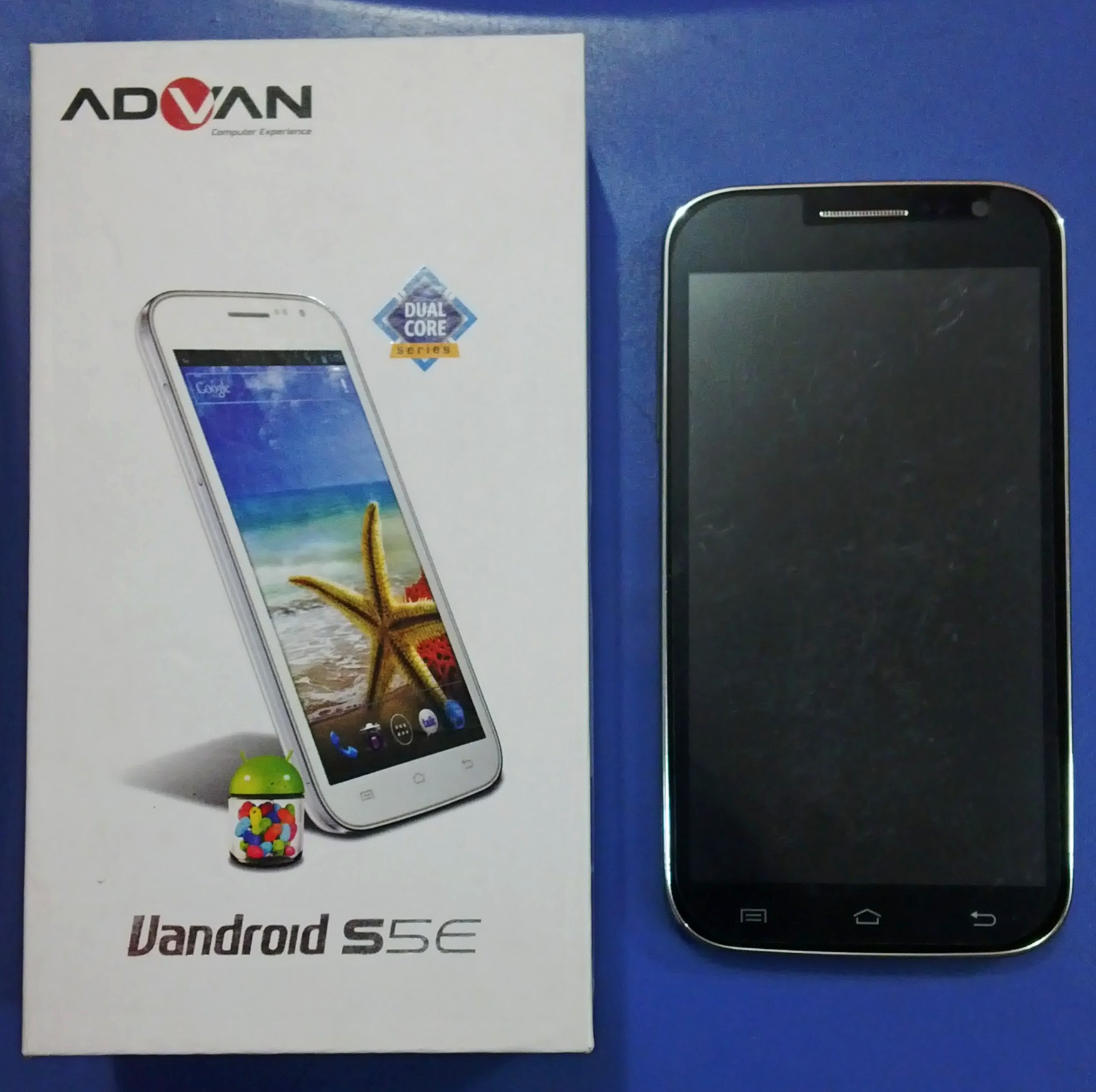Jual android advan s5e 2nd bekas davine mobile tokopedia reheart Gallery