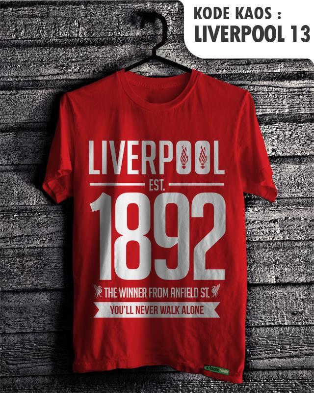 ... Klub Tim Sepak Bola Jersey Football Fan Club Team Supporter Logo LIV13
