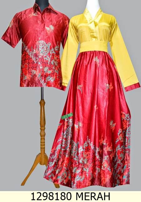 Jual Couple Gamis Batik Semi Sutra Dzikrasyifani Os