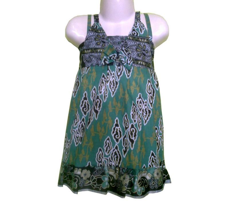 jual dress batik kemben v anak 1 2 tahun   rhecoll tokopedia
