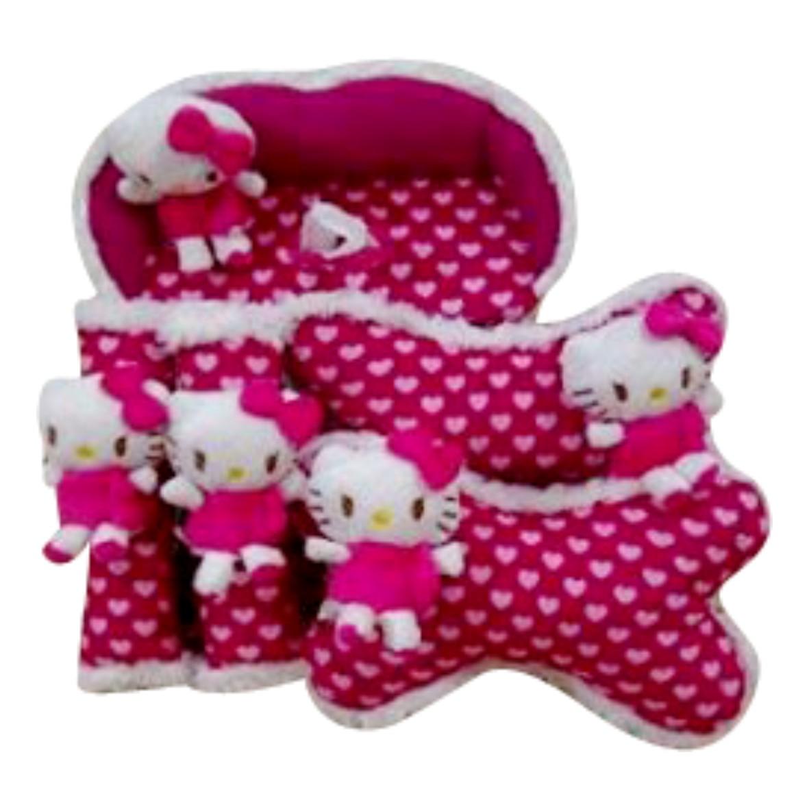 Bantal Mobil 3 In 1 Car Set 3in1 Aksesoris Ac Milan Spec Dan Jual Boneka Hello Kitty Merah Patmoza Shop