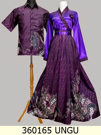 Jual 360165 Gamis Kancing Depan Baju Pesta Batik