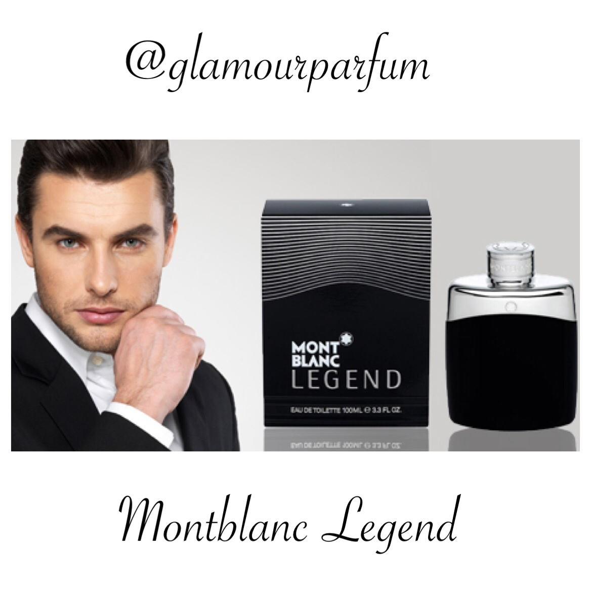 Jual Parfum Original Montblanc Legend Men Edt Mont Blanc Glamour For 100ml Tokopedia