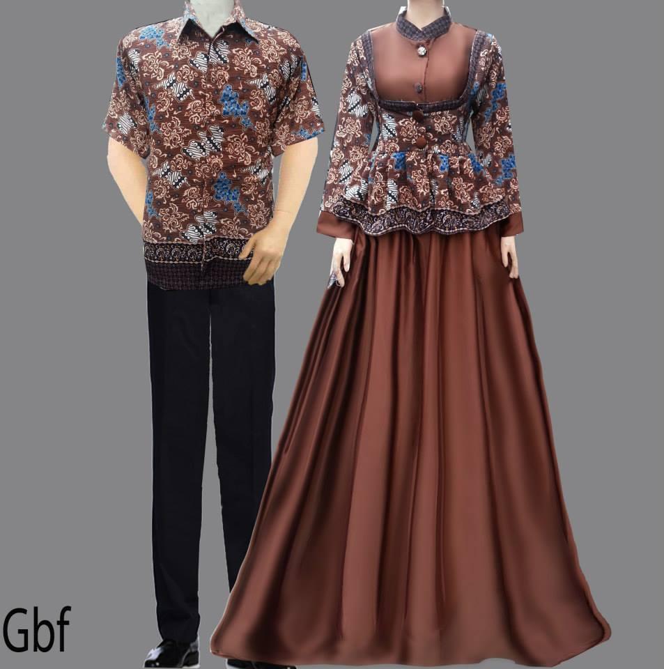 Jual Sarimbit Gamis Batik GBF - ZaRa Store | Tokopedia