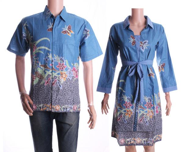 Jual Baju Batik Couple Model Dress Kupu Jogjamarket