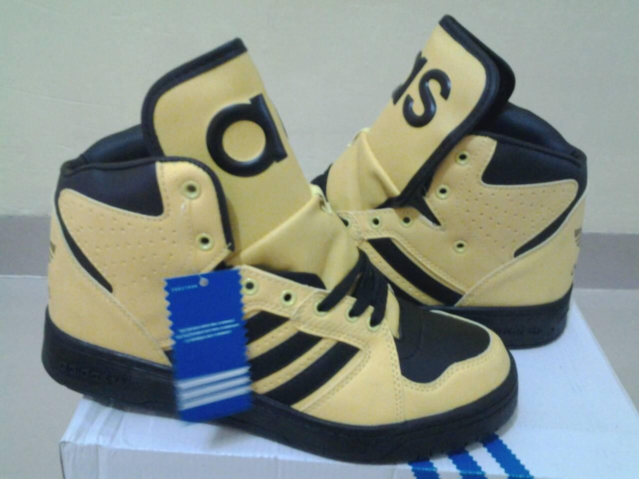 Jual sepatu adidas yellow kuning hyoyeon snsd 2ne1 fashion