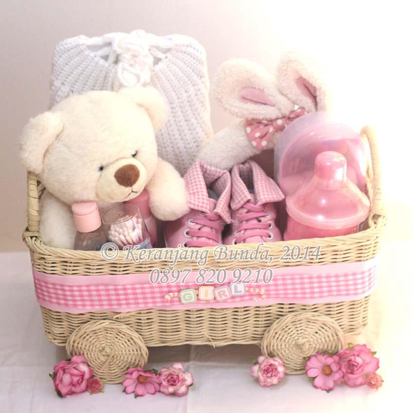 Jual Bingkisan Hadiah Bayi Perempuan Newborn Gift