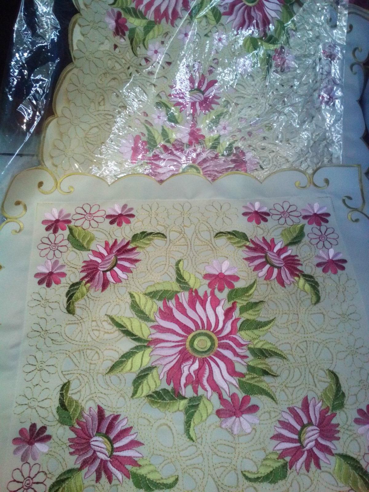 Gambar Bunga Untuk Taplak Meja Pickini
