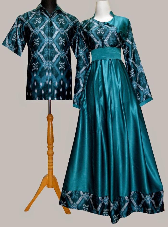 Jual Bosf33 Gamis Couple Batik Butik Online Shop Tokopedia