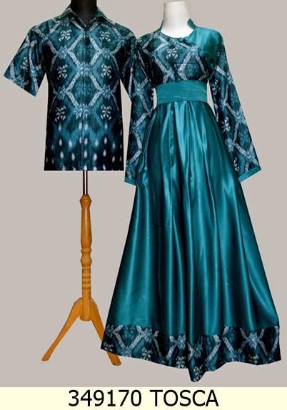 Jual 349170 Ungu Baju Gamis Sarimbit Batik Solo Baju