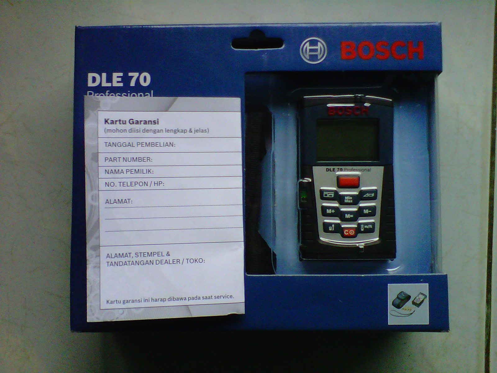 Bosch Entfernungsmesser Dle 70 : Jual meteran laser bosch dle 70 professional toko peralatan