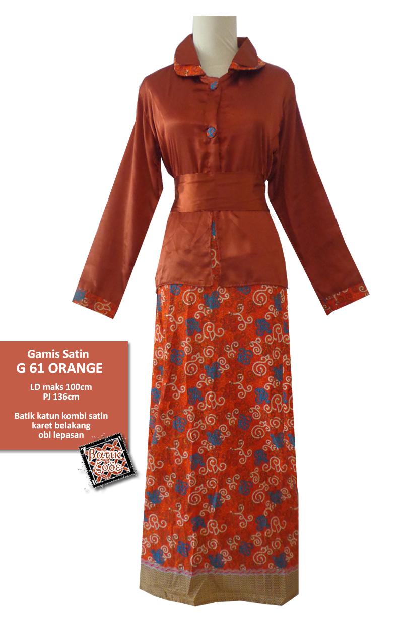 Model Baju Gamis Batik Untuk Anak Muda Gamis Murni