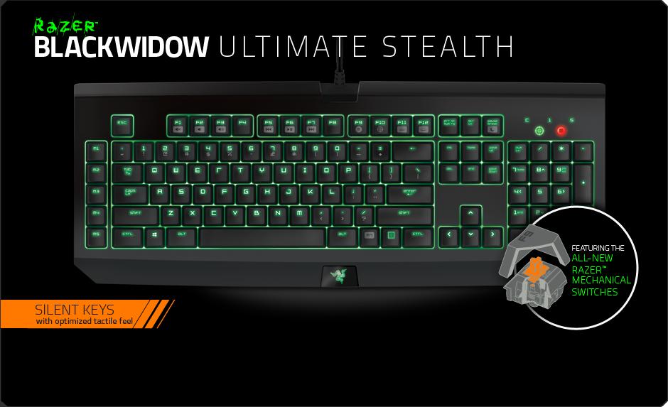 1a6c69960d3 Razer Blackwidow Ultimate Stealth 2014 :: DEXTmall.com