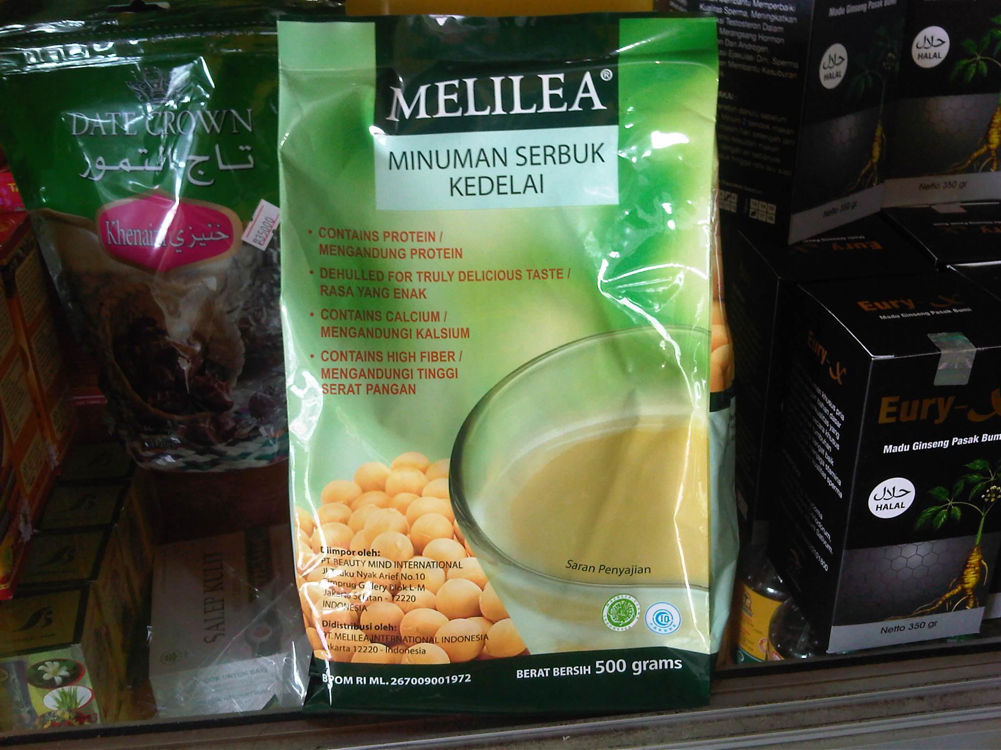 Jual Susu Kedelai Melilea Organic Soya Drink Herbal Organik Serbuk Jakarta Tokopedia